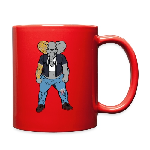 Dumbo Fell in the Wrong Crowd - Full Color Mug