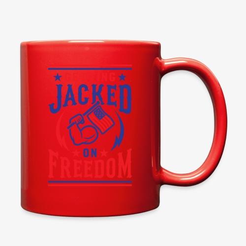Getting Jacked On Freedom - Full Color Mug