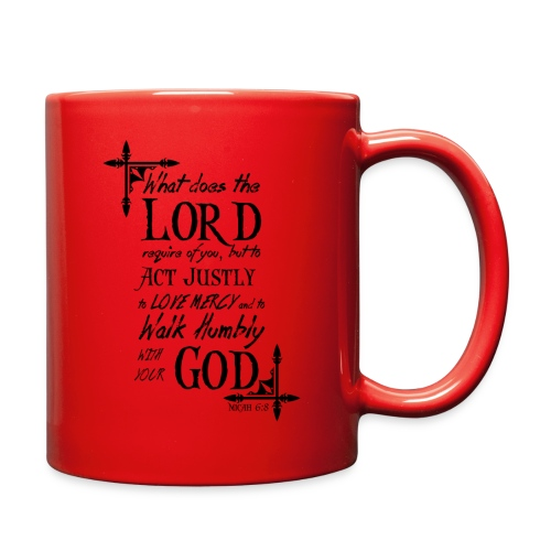 Micah 6:8 - Full Color Mug