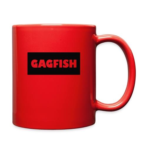 GAGFISH BLACK LOGO - Full Color Mug