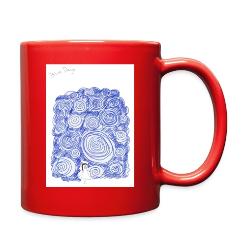 Blue Days - Full Color Mug