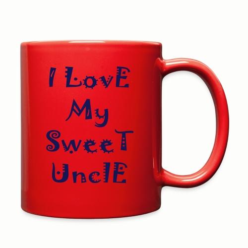 I love my sweet uncle - Full Color Mug