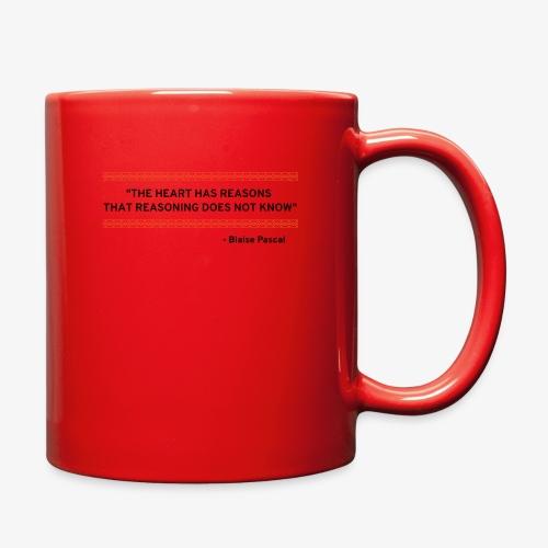 Blaise Pascal - Quote - Full Color Mug