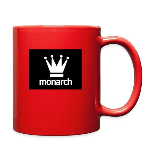 monarch with logo - Full Color Mug