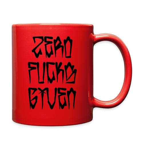 Zero Fucks Given - Full Color Mug