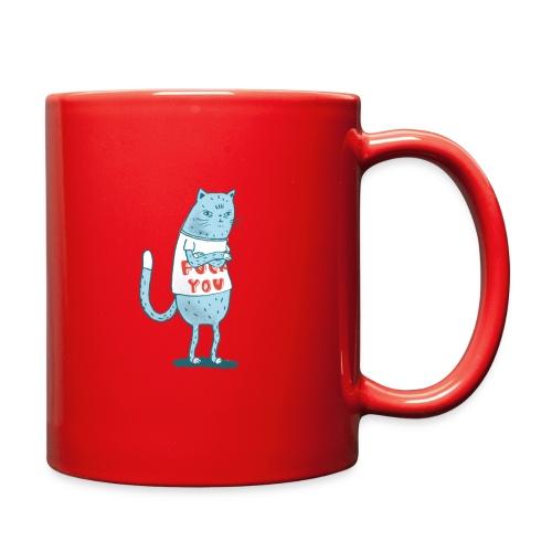 Sociopath Cat - Full Color Mug