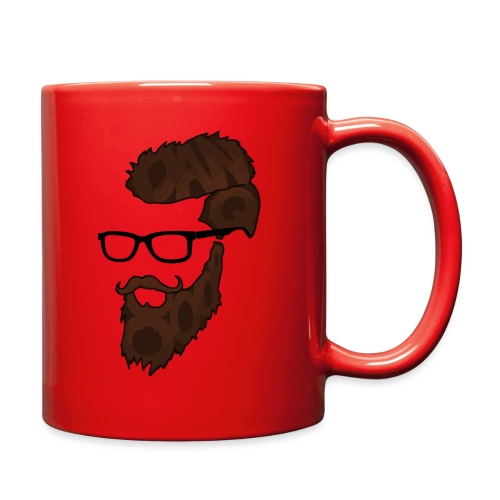 DanQ8000 Beard Logo 2017 - Full Color Mug