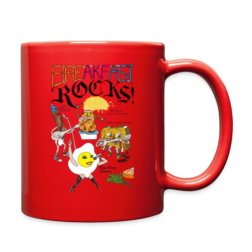 Breakfast Rocks! - Full Color Mug