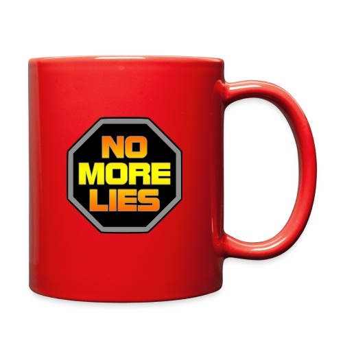 stopp no more lies - Full Color Mug