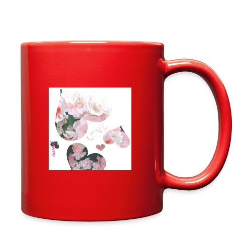 Roses with love, sweet - Full Color Mug