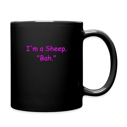 I'm a Sheep. Bah. - Full Color Mug