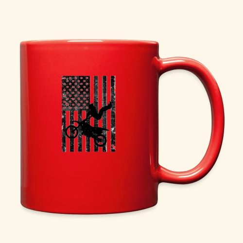 American Flag (Black and white) - Full Color Mug