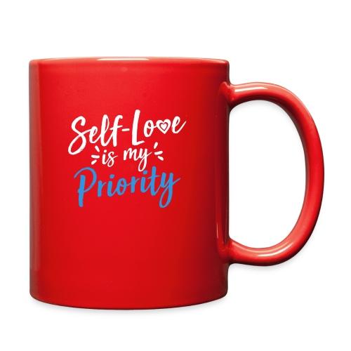 Self-Love is My Priority Shirt Design - Full Color Mug