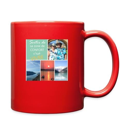 Positivons la vie - Full Color Mug