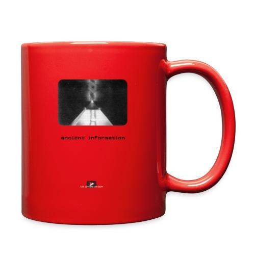 'Ancient Information' - Full Color Mug