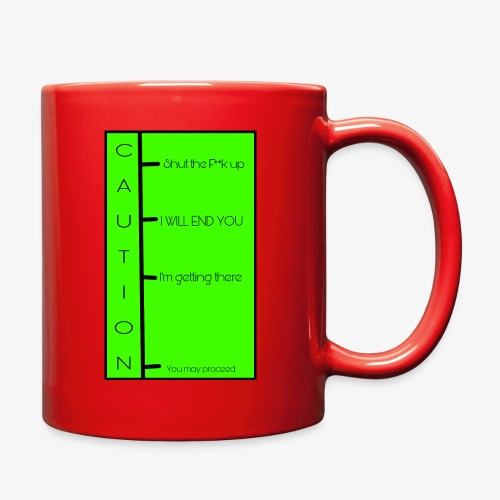 When to talk chart - Full Color Mug