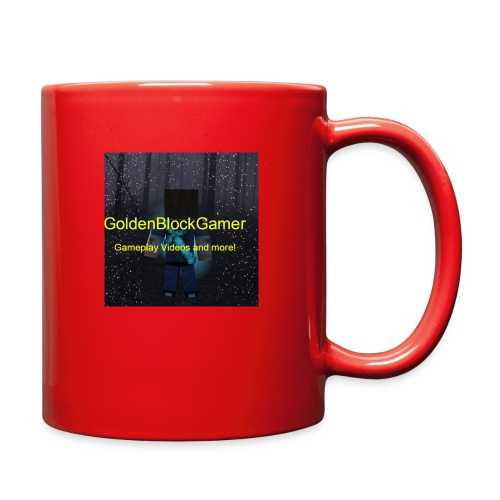 GoldenBlockGamer Tshirt - Full Color Mug
