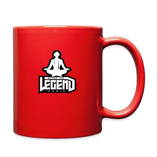 Enter The Legend Music B/W - Full Color Mug