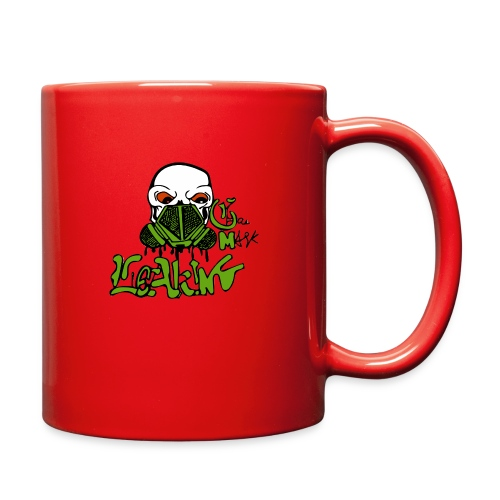 Leaking Gas Mask - Full Color Mug