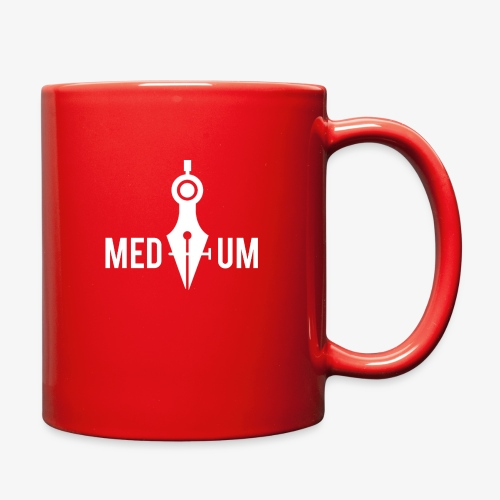 Medium (Pen Tool and Compass) - Full Color Mug