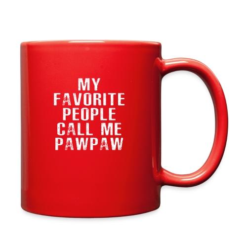 My Favorite People Called me PawPaw - Full Color Mug