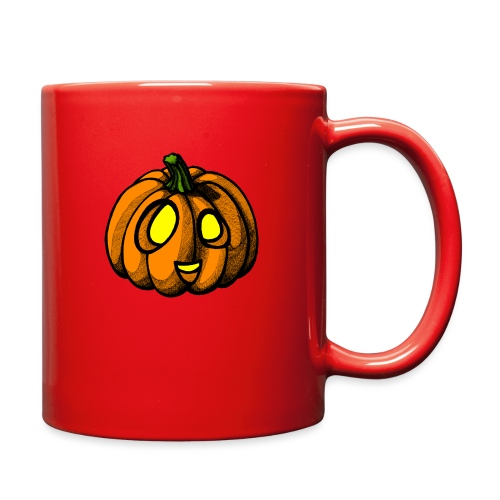 Pumpkin Halloween scribblesirii - Full Color Mug