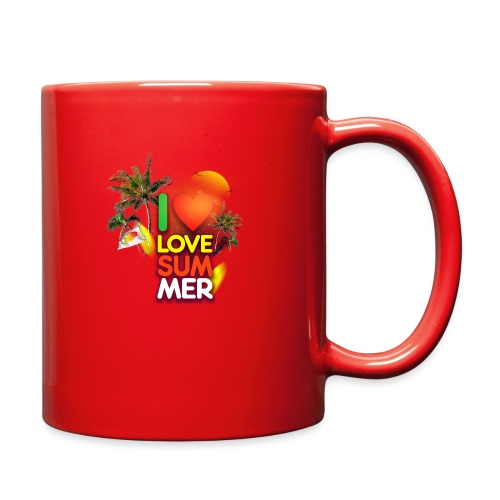 I love summer - Full Color Mug