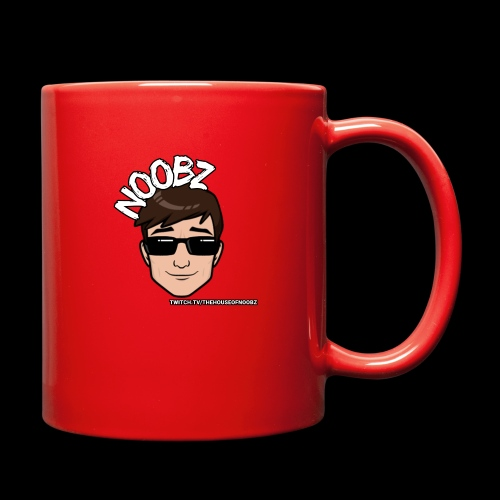 Noobz Head - Full Color Mug