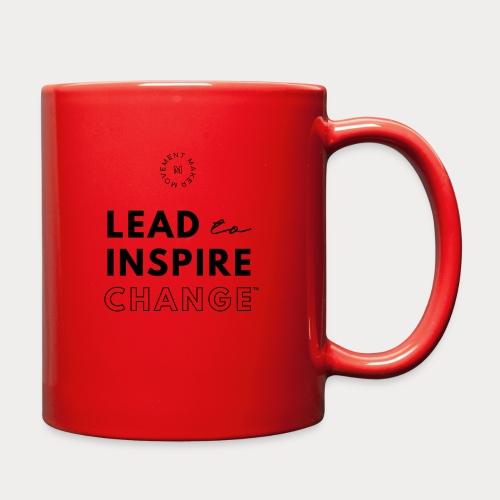 Lead. Inspire. Change. - Full Color Mug