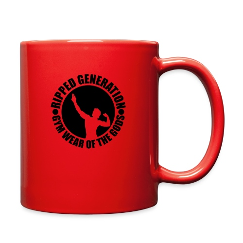 Ripped Generation Gym Wear of the Gods Badge Logo - Full Color Mug