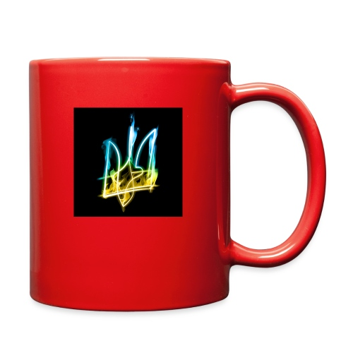 Burning Trident for button pins - Full Color Mug