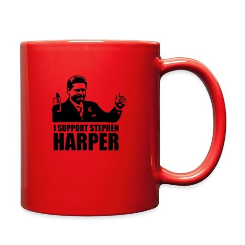I Support Stephen Harper - Full Color Mug