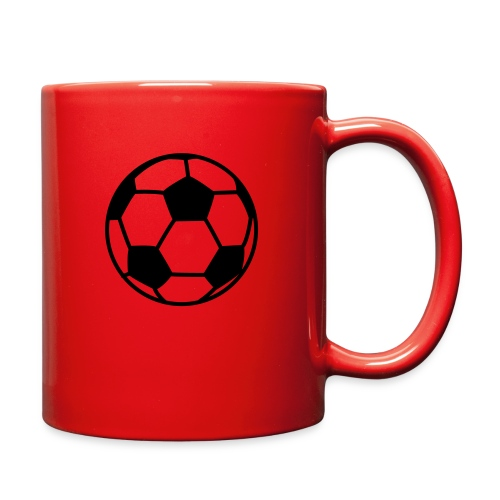 custom soccer ball team - Full Color Mug