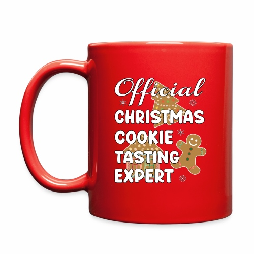Funny Official Christmas Cookie Tasting Expert. - Full Color Mug