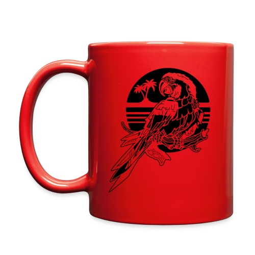 Tropical Parrot - Full Color Mug