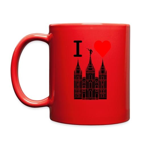 I (Heart) the Temple - Full Color Mug