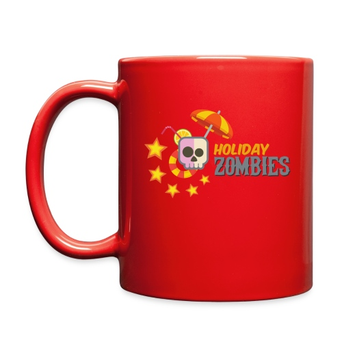 Holiday Zombies logo - Full Color Mug