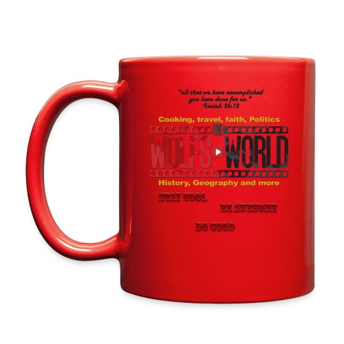 TheWolfsWorld Merch - Full Color Mug