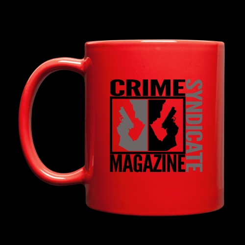 CRIME SYNDIATE MAGAZINE LOGO (No Background) - Full Color Mug