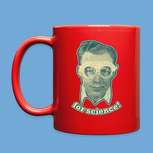 For Science! - Full Color Mug