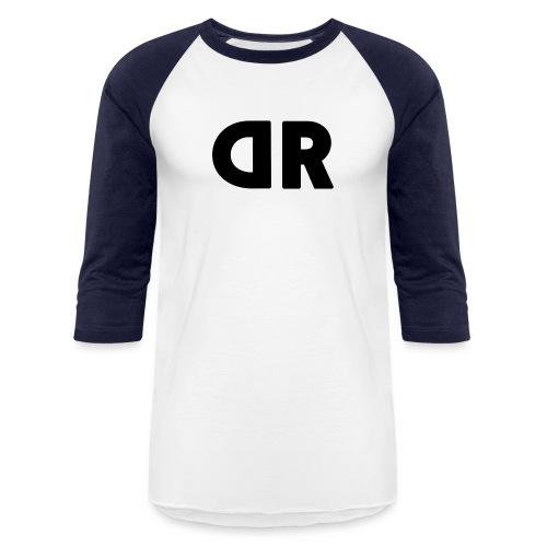 DUBBRICHARD BLACK ON BLUE - Baseball T-Shirt
