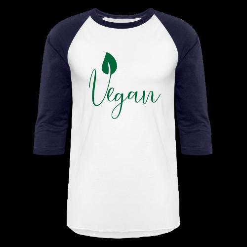 Vegan - Baseball T-Shirt