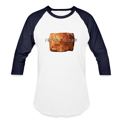 Jesus is Lord - stone tablet - Baseball T-Shirt