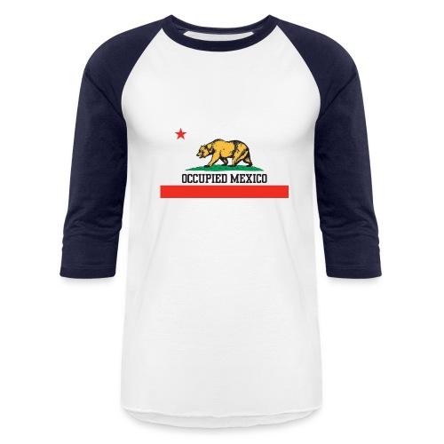 The Real California Flag - Baseball T-Shirt
