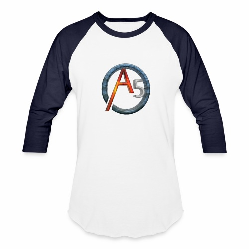 The Transparent Elemental A5's Logo - Baseball T-Shirt