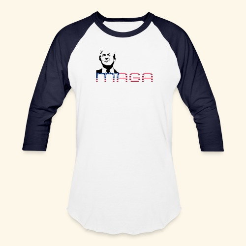 MAGA 2 (MakeAmericaGreatAgain) - Baseball T-Shirt