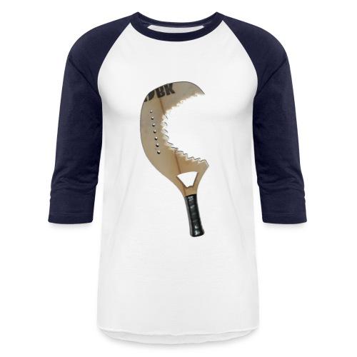 Raquette modue requin - Baseball T-Shirt