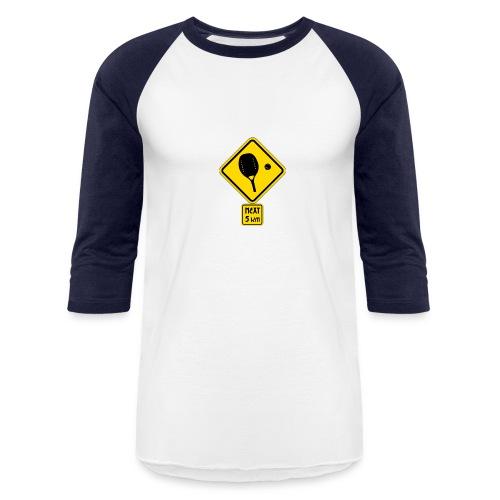 panneau beach - Baseball T-Shirt