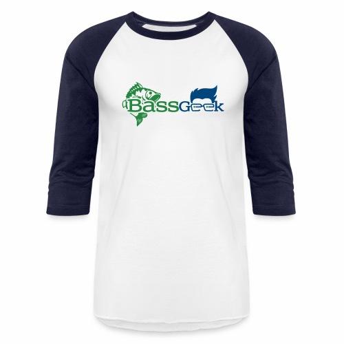 BassGeek Logo - Baseball T-Shirt