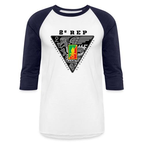2e REP - Foreign Legion - Badge - Dark - Baseball T-Shirt